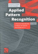 Applied Pattern Recognition Book PDF