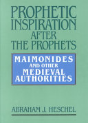 Prophetic Inspiration After the Prophets