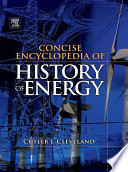 Concise Encyclopedia of the History of Energy Book