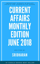 Current Affairs Monthly Edition - June 2016 - 2018M6