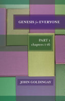Genesis For Everyone  Part 1 chapters 1 16