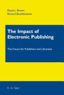 The Impact of Electronic Publishing