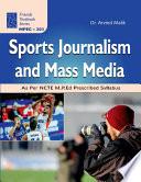 Sports Journalism and Mass Media