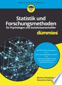 Statistik und Forschungsmethoden F Psychologen und Sozialwissenschaftler Fur Dummies