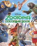 Zootopia Coloring Book Book