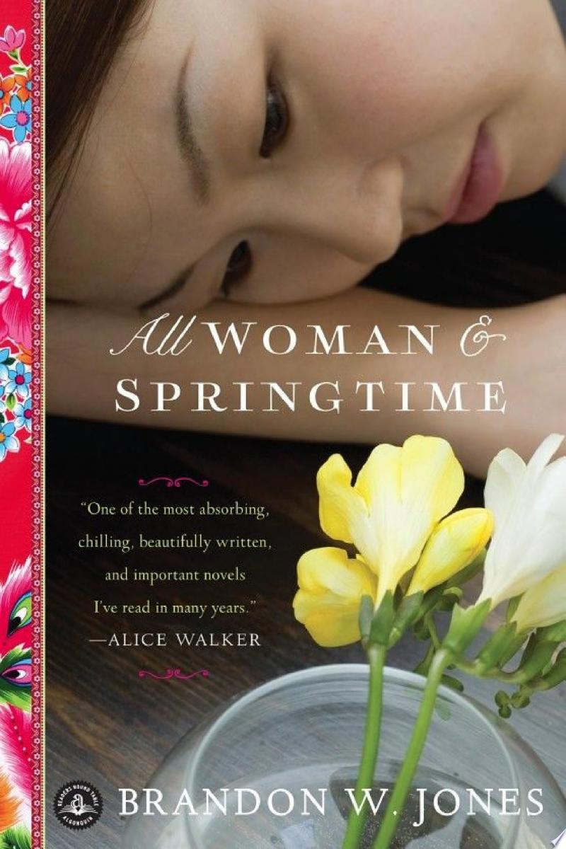 All Woman & Springtime banner backdrop