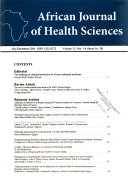 African Journal of Health Sciences