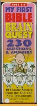 My First Bible Brain Quest Book