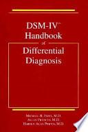 DSM-IV Handbook of Differential Diagnosis