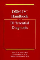 DSM IV Handbook of Differential Diagnosis