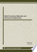 Multi Functional Materials and Structures Engineering Book
