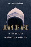 Pdf Joan of Arc in the English Imagination, 1429–1829 Telecharger