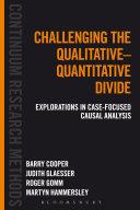 Challenging the Qualitative Quantitative Divide