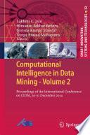 Computational Intelligence in Data Mining   Volume 2 Book