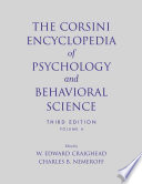 The Corsini Encyclopedia of Psychology and Behavioral Science  Volume 4