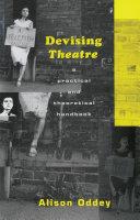 Devising Theatre [Pdf/ePub] eBook