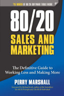 Pdf 80/20 Sales and Marketing Telecharger