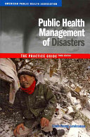 Cover of Public Health Management of Disasters