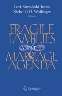 Fragile Families and the Marriage Agenda