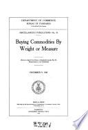 Miscellaneous Publication   National Bureau of Standards Book