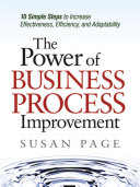 Pdf The Power of Business Process Improvement Telecharger