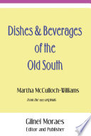 Dishes   Beverages of the Old South
