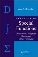 Handbook of Special Functions