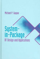 System In Package Rf Design And Applications