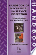 Handbook of Mechanical In Service Inspection