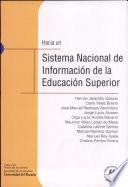 Hacia un sistema nacional de información de la educación superior
