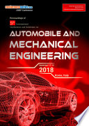 Proceedings of 5th International Conference and Exhibition on Automobile   Mechanical Engineering 2018