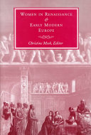 Women in Renaissance and Early Modern Europe