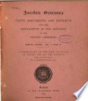Anecdota Oxoniensia  Semitic Series