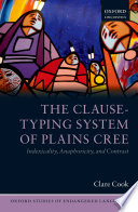 The Clause Typing System Of Plains Cree