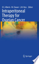 Intraperitoneal Therapy For Ovarian Cancer Book PDF