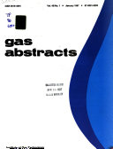 Gas Abstracts
