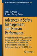 Advances in Safety Management and Human Performance Book