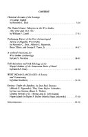 Journal of the Virgin Islands Archaeological Society Book