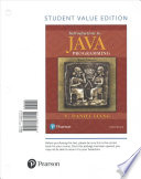 Introduction to Java Programming, Brief Version, Student Value Edition Plus MyProgrammingLab with Pearson EText - Access Card Package