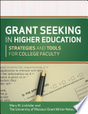 Grant Seeking in Higher Education