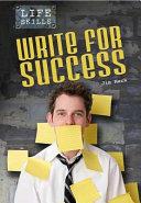 Write for Success