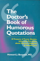The Doctor s Book of Humorous Quotations