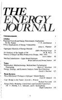 The Energy Journal