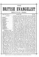 the british evangelist