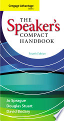 Cengage Advantage Books  The Speaker s Compact Handbook