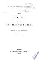 The History Of The Thirty Years  War In Germany