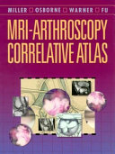 MRI  arthroscopy Correlative Atlas Book