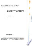 How Children And Teacher Work Together