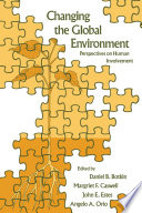 Changing the Global Environment Book