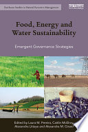 Food  Energy and Water Sustainability